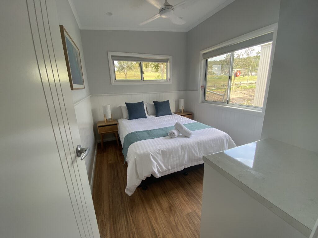 modular home bedroom tiny home